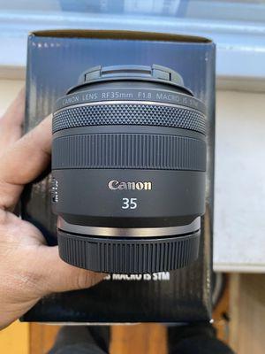 Canon RF 35mm f1.8 for Sale in Philadelphia, PA
