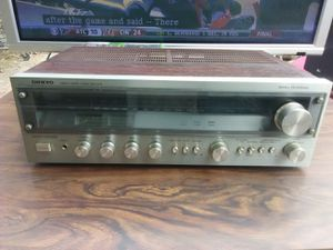 Vintage Onkyo receiver for Sale in Washington, DC