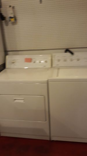 Kenmore washer and dryer set excellent condition 4months warranty for Sale in Linthicum Heights, MD