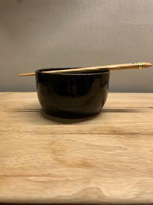 Ramen bowl with chopsticks for Sale in Milwaukee, WI