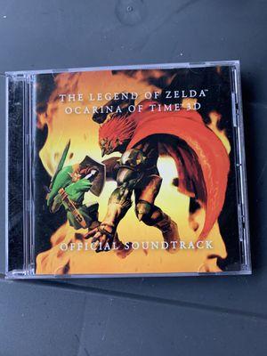 Soundtrack: The Legend of Zelda Ocarina of Time Music CD for Sale in Fullerton, CA