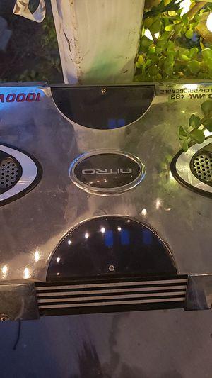 1000 watt amplifier for Sale in Fontana, CA