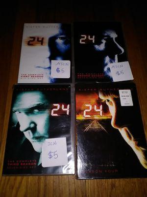 24 Season 1-4 for Sale in Kingsport, TN