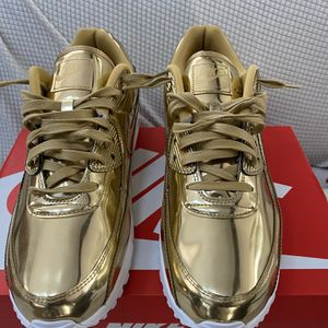 "Nike Air Max 1 "" Metallic Gold ""- Size 13 Men's for Sale in Columbia, MD"