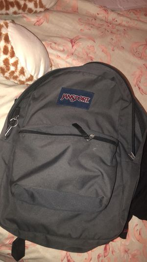 Jansport Grey Backpack for Sale in Tampa, FL
