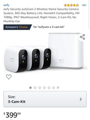 Eufy Cam E 3 camera set for Sale in Norwalk, CA