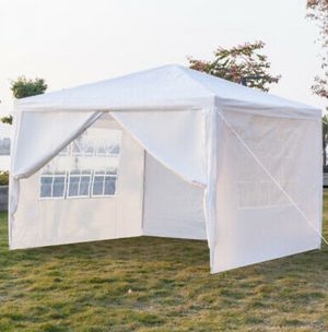 10'x10' Party Tent Canopy Heavy Duty Outdoor BBQ Wedding Family Events Yard for Sale in Los Angeles, CA