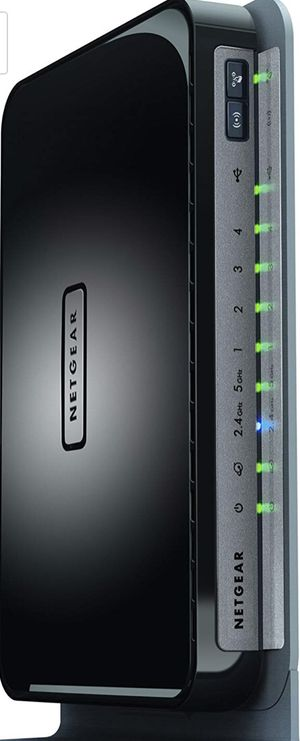 NETGEAR N750 Dual Band 4 Port Wi-Fi Gigabit Router (WNDR4300) for Sale in Chicago, IL