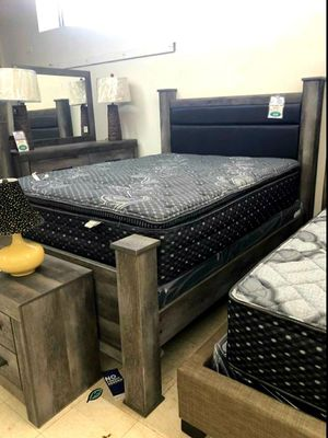 🆕️ Best OFFER 🍻🍾 Wynnlow Gray Poster Bedroom Set | B440 859 for Sale in Jessup, MD