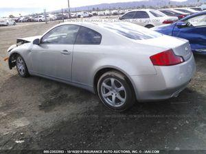2004 Infiniti g35 for parts for Sale in Phoenix, AZ