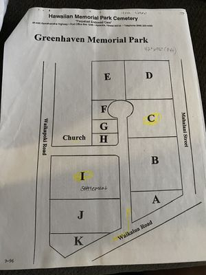 Greenhaven Memorial Park Plots for Sale for Sale in Waimanalo, HI