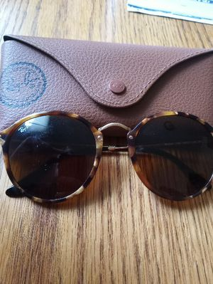 Ray Ban Round Spotted Brown Havana Sunglasses for Sale in Germantown, MD