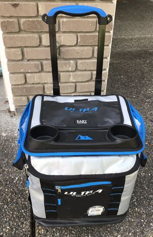 Cooler with rolling stand for Sale in Maple Valley, WA