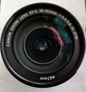 Canon EF-S 18-135 mm STM lens for Sale in Coppell, TX