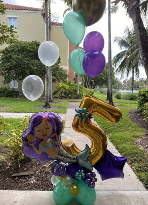 Mermaid Balloons Bouquet for Sale in Miami, FL