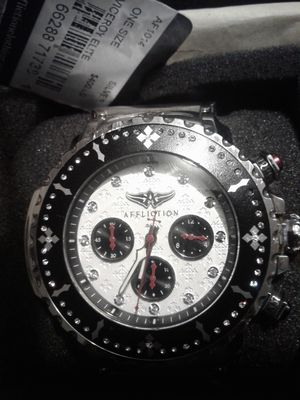 AFFLICTION WATCH WITH SWAROVSKI CRYSTALS for Sale in Mabelvale, AR