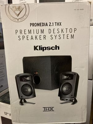 KLIPSCH PROMEDIA 2.1 THX® CERTIFIED COMPUTER SPEAKER for Sale in Hayward, CA