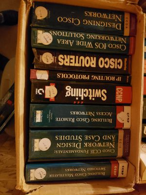 Cisco Networking Books for Sale in Halstead, KS