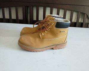 Weatherproof work boots size 5 youth for Sale in Clarksville, TN