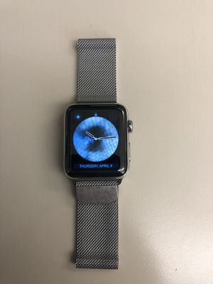 Apple Watch Series 2 SS 42mm for Sale in Midlothian, VA