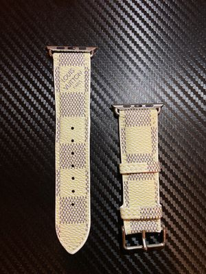 Louis Vuitton Apple Watch Band White for Sale in Towson, MD