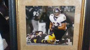 Steelers vs Ravens - Classic picture w Ray & Ben for Sale in Fort Myers, FL