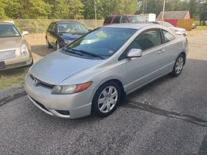 07 Honda Civic!!!Gas Saver!!!! for Sale in Monroe Township, NJ