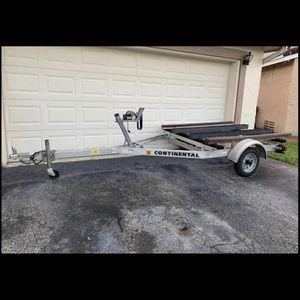 Double Jet ski or small boat trailer for sale for Sale in Miami, FL
