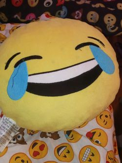 A 😂 Emoji Pillow for Sale in Auburndale,  FL