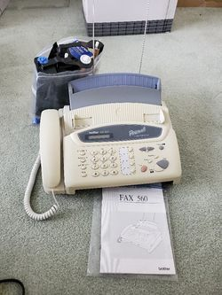 REDUCED! BROTHER PERSONAL FAX MACHINE for Sale in San Angelo,  TX