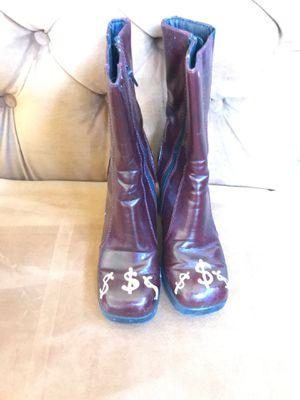 "Halloween ""money"" boots 👢😂 for Sale in Oceanside, CA"