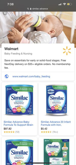 Similac advance for Sale in Camp Springs, MD