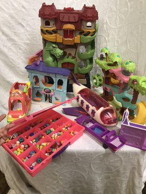 Shopkins & Little Pet Shop Toy Lot for Sale in Raleigh, NC