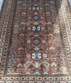 Genuine Hand Knotted Turkish Caucasian 5'X7' Rug for Sale in Alpharetta,  GA