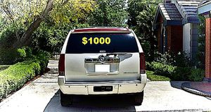 🎁$1000 Selling sell my 2008 Cadillac Escalade 🍀 for Sale in Washington, DC
