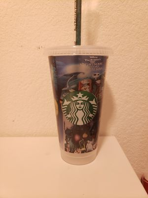 Starbucks Nightmare before Christmas cold cup for Sale in Houston, TX
