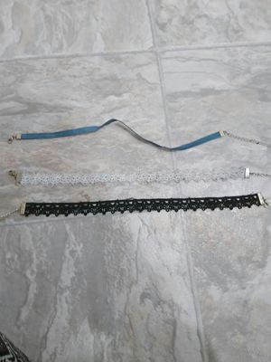 Three chokers bought from target for Sale in Menahga, MN