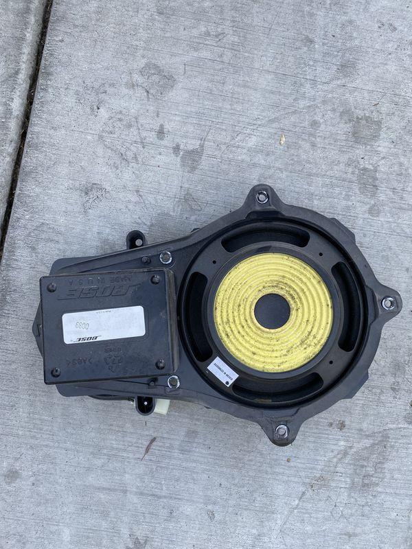 Corvette door speaker