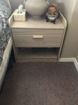 Pair of bedside tables for Sale in Fort Leonard Wood, MO