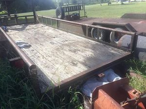 20' LowBoy Gooseneck Trailer with papers for Sale in Skidmore, TX