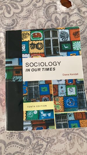 Sociology in our times book for Sale in Naperville, IL