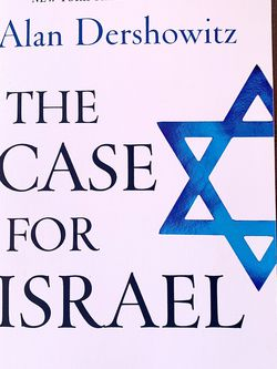 "Book ""The Case For Israel"" By Alan Dershowitz for Sale in Hialeah,  FL"