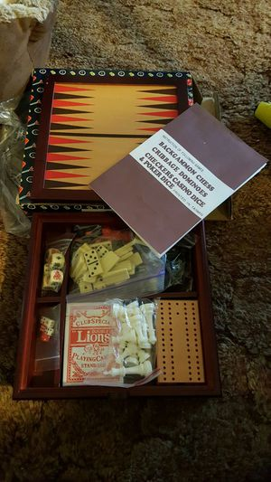 Games perfect for traveling, camping or just keep the kids busy for Sale in Southgate, MI