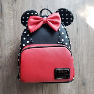 Disney Minnie Mouse Polka Dot Backpack Loungefly for Sale in Atlanta, GA