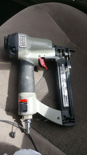 Porter cable air finish nailer/nail gun for Sale in Salt Lake City, UT