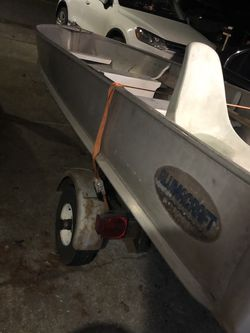 14' Boat And Trailer Two Motors for Sale in Vancouver,  WA