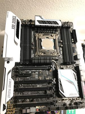 Asus X99-Pro LGA 2011v3 WiFi AC Bluetooth Motherboard Xeon CPU for Sale in Campbell, CA