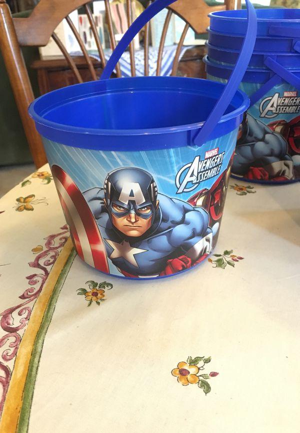 Avengers Buckets