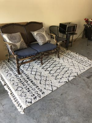 Area rug and outdoor furniture for Sale in Tampa, FL