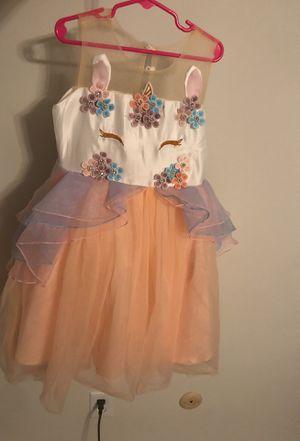 Girls size 6 unicorn party dress for Sale in Norfolk, VA